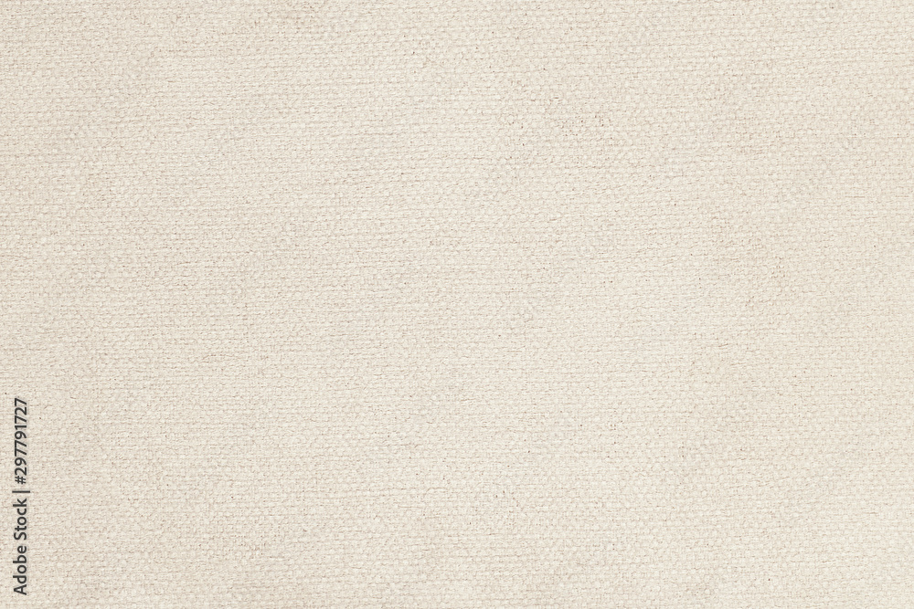 Fototapety, obrazy: Natural linen material textile canvas texture background