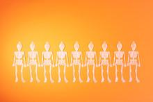 Happy Halloween Row Of Dancing...