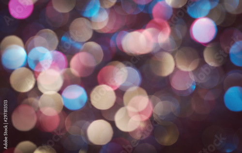 Canvastavla  Bokeh background for your design