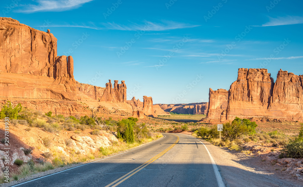 Fototapety, obrazy: Scenes from famous Arches National Park, Moab,Utah,USA