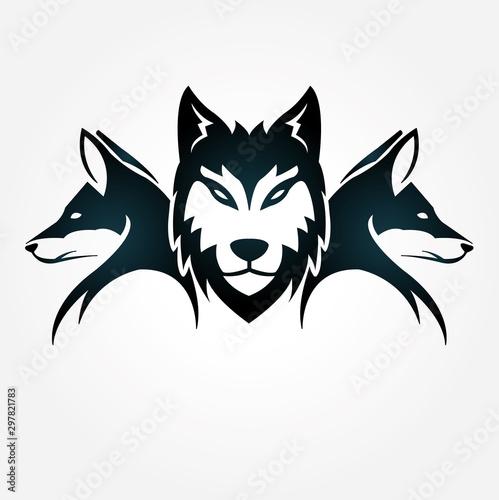Obraz na plátně wolfpack
