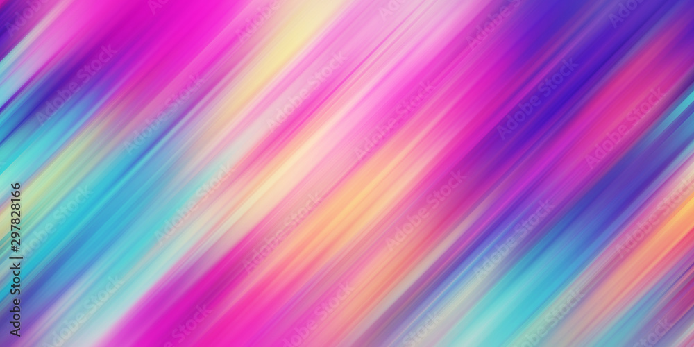 Fototapety, obrazy: Colorful abstract background illustration. Rainbow Style Gradient lines. Template for your design, screen, wallpaper, banner, poster