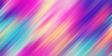 Colorful Abstract Background Illustration. Rainbow Style Gradient Lines. Template For Your Design, Screen, Wallpaper, Banner, Poster