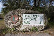 Everglades Entrance Sign