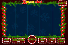 Christmas Slot, Game UI Interf...