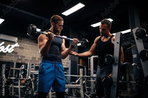 Fotografia  100% focused on his training