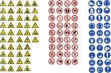 ISO 7010 CARTELLI SEGNALETICA NORME CANTIERI LAVORI