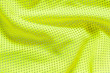 canvas print picture - Texture of fabric yellow material