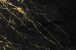 canvas print picture - Black and gold marble texture design for cover book or brochure, poster, wallpaper background or realistic business and design artwork.