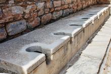 Antique Marble Public Toilet I...