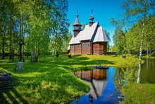 Old Wooden Church In Kostroma ...
