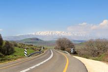 Mountain Mount Hermon With Str...