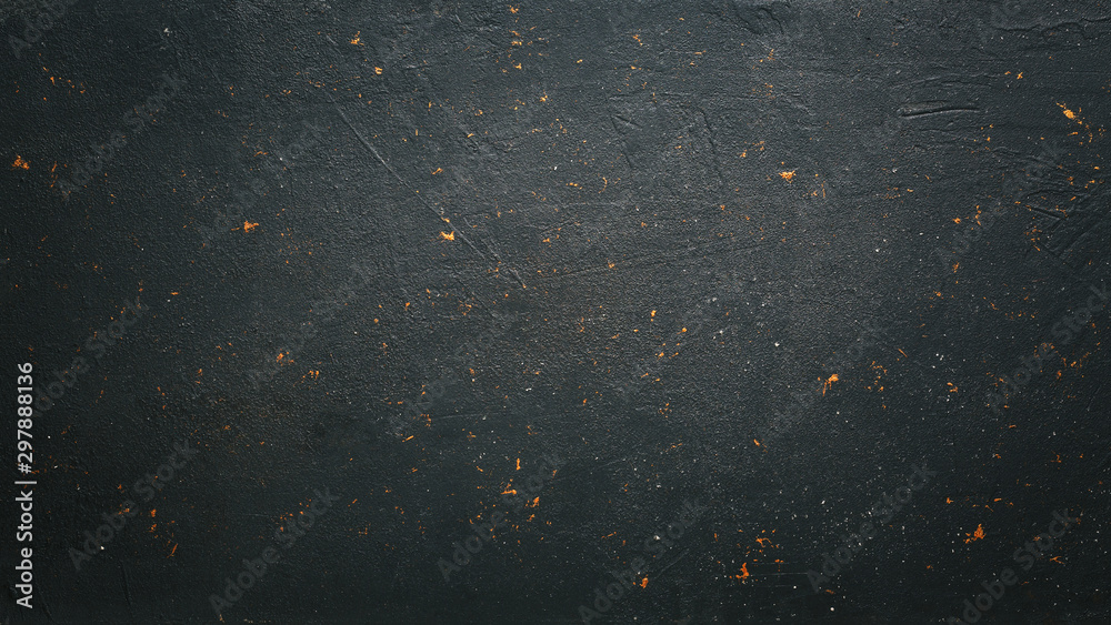Fototapeta dark concrete background with copy space for text