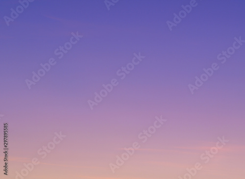 Photo sur Toile Lilac Beautiful abstract nature sunset or sky as background. Abstract pastel soft colorful smooth blurred textured background off focus toned. Beautiful sunset sky as backdrop. Ronamtic rainbow sunrise