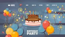 Happy Birthday Website Page De...