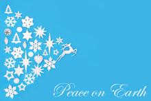 Christmas Peace On Earth Abstr...