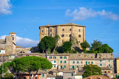 Fototapeta  Capodimonte e Rocca Farnese - Lago di Bolsena (VT)