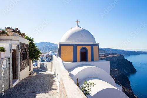 Fototapeta Fira Santorini Grichenland obraz