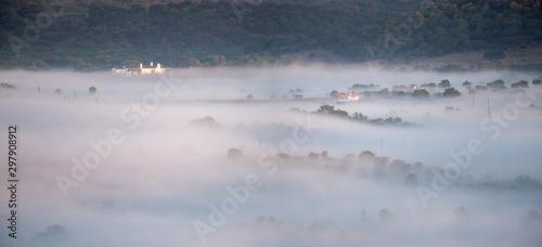 Nevoeiro Tablou Canvas