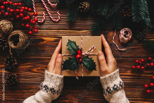 Fotografie, Tablou Christmas gift