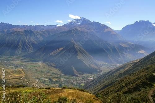 Fototapeta  Urubamba valley in the Andes of Peru