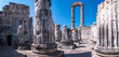 canvas print picture - Ruins of Apollo Temple in Didim, Aydin Town, Turkey. The other name of this place is Didyma Ancient City