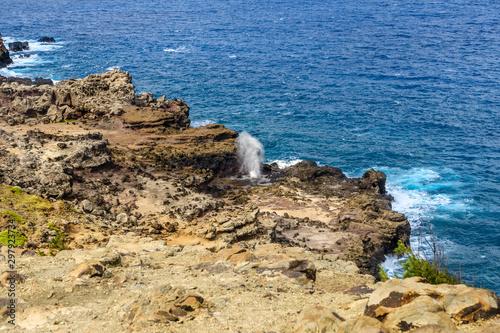 Valokuva  Nakalele Blowhole in Maui