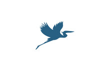 Blue Heron Logo Design Ideas