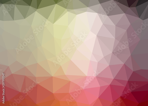 Fototapeta  triple tantrum theme abstract background triangles trianglify colorful beautiful