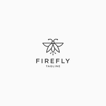 Firefly Logo Icon Design Templ...