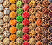 Collection Of Dried Fruit And ...