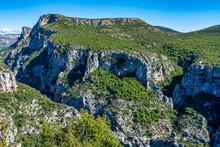 Verdon Gorge, Gorges Du Verdon In French Alps, Provence, France