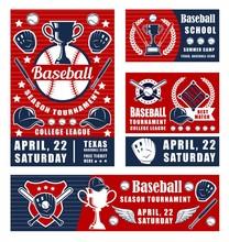 Baseball Sport Game, Championship Poster