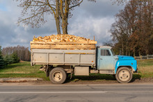 Truckload Of Freshly Cut Firew...