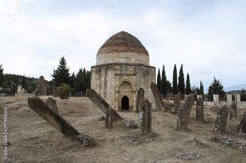 Obraz na plátně The Shamakhi 7 Dome mausoleum is a historical monument.