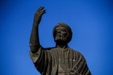 Statue Of The Poet Mutanabi