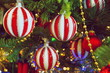 christmas tree with gifts and decorations 2020