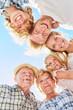 canvas print picture - Erweiterte Familie oder Großfamilie