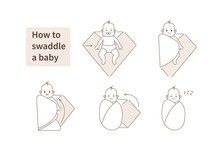 How To Swaddle A Baby Instruct...