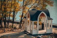 Autumn Park Nature Architectur...