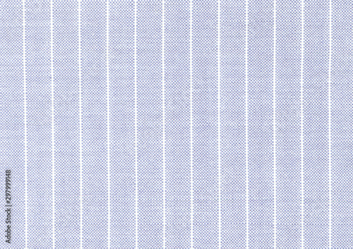 Obraz Delicate light blue linen fabric with visible weave texture. White and blue striped fabric. High resolution - fototapety do salonu