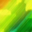 canvas print picture - futuristic concept of motion speed lines with green yellow, forest green and dark green colors. good as background or backdrop wallpaper. square graphic with strong color