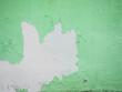 Leinwanddruck Bild - Green old wall background texture