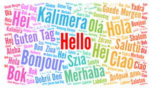 Hello In Different Languages W...