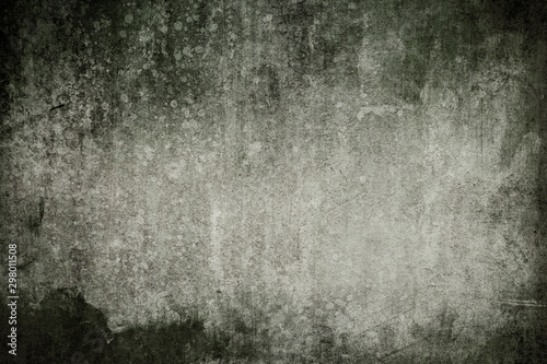 Old grey weathered wall background or texture Fototapet