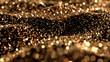 Leinwandbild Motiv Luxury glitter background. 3d illustration, 3d rendering.