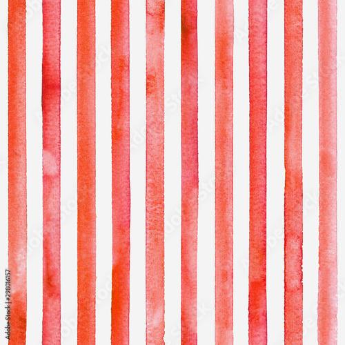 Tapeta czerwona  watercolor-stripe-seamless-pattern-color-stripes-background