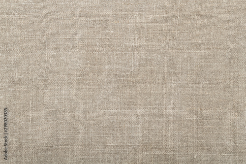 Obraz Simple rustic background from linen cloth with plain weave - fototapety do salonu