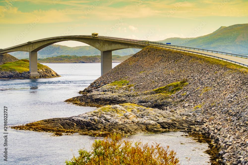 Fototapety, obrazy: The Atlantic Road in Norway