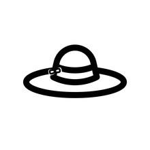 Pamela Hat Line Icon, Outline ...